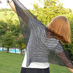 emmafassio in Mea Shawl di Manos Lace