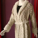 Musique Coat with Faux Fur Collar
